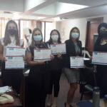 MECIP entrega certificados del taller de inducción